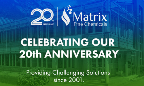 Matrix Fine Chemicals is celebrating its 20th anniversary